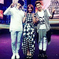 #Taiwanese #TV #pop #Music #show #host #talent #singer @cclairekuoo #郭靜 #ClaireKuo in our #origami #onepiece #dress #super #proud #yojirokake #fashion #design #designer #showbiz #celebrity #優質 #藝人 #全球中文榜上榜 #tvbs #流行音樂 #backstage #igers @notjustalabel @lsquare_boutique51@ilovepinkoi #pinkoi