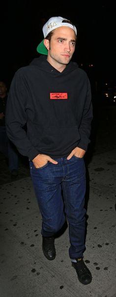 Robert Pattinson seen coming out of Soho House in NYC during a night out.