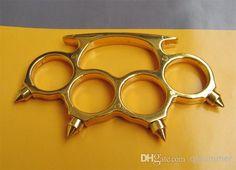 Gold Brass Knuckle Duster Belt Buckle New, $26.18   DHgate.com