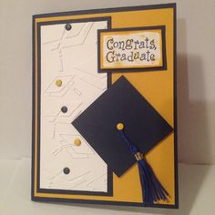 Card made for my niece's graduation from U of Pitt!