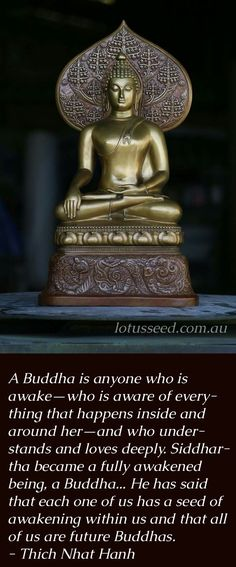 Thich Nhat Hanh Buddhist Zen quotes by lotusseed.com.au