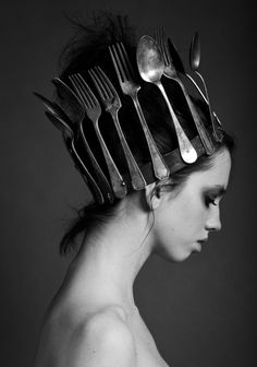 Crown of silver