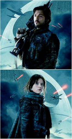 Jyn and Cassian | Star Wars | Rogue One | RebelCaptain