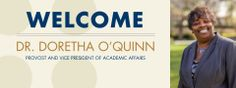 Dr. Doretha O'Quinn joins Vanguard University as Provost and Vice President of Academic Affairs! Dr. O'Quinn has spent over 34 years working as an administrator, principal and teacher in public and Christian K-12 schools and universities in southern California. She brings a passion for advancing the mission of Vanguard University in diverse communities.