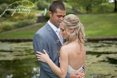 Jennifer Rotz Photography | www.jenniferrotzphotography.com Bride and groom wedding portrait.