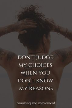 If you're still one of those who points and laughs and judges people I hope you read this blog. Here are 8 reasons why you should never judge people. Ever