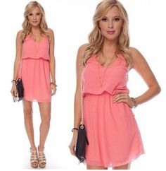 @Marcie Bernhardt  This would be a cute bridesmaid dress