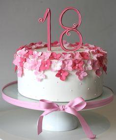 Resultado de imagem para bolos de aniversário para meninas de 18 anos