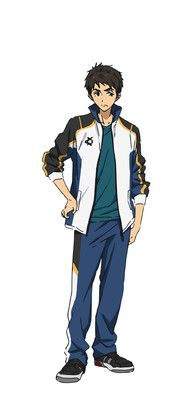 High Speed! Free! Starting Days: Sosuke Yamazaki. A first-year student at Sano Middle School. During elementary school, he became aware of Haruka and his friends through a swim club tournament. He is an understanding person who is close friends with Rin.