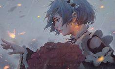 Remember me~ ➰ #drawing #rezero #fanart #rem