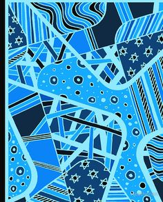 Miniature Aussie Tangle 12 Invert Blue