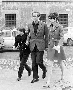Sean, Andrea Dotti and Audrey in Rome, circa 1970. Audrey Hepburn Estate Collection.