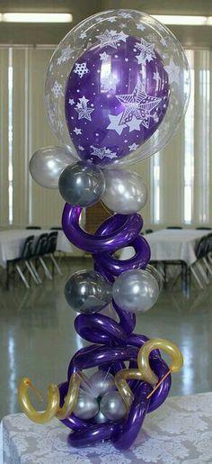 Arreglo de globos