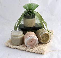 Sugar Scrub Sampler Set Cranberry Coconut Lime by SweetSallysSoaps, $8.00