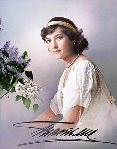 Grand Duchess Tatiana Nikolaevna Romanova of Russia (colourised).