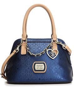 GUESS Handbag, Margeaux Amour Dome Satchel
