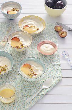 Receta de mousse de chocolate blanco y lemon curd