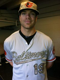 Chris Davis on Memorial Day. My fave player! Not bad on the eyes either 😉