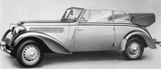 Adler Cabriolet 2 litres