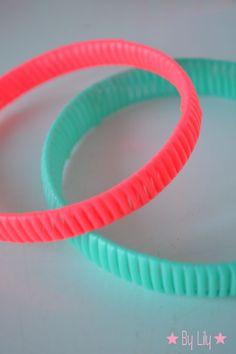Les Bracelets NEON en Scoubidou-bidou | Lily's Little Factory