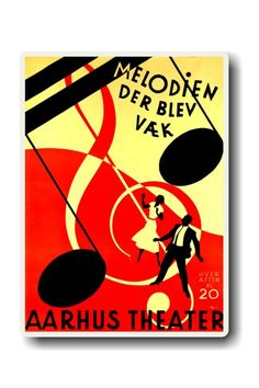 I've been to Aarhus Theater to see at least 2 shows  poster by Henrik Hansen