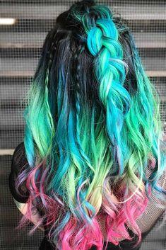Red Balayage Hair, Ombre Hair, Brunette Ombre, Brunette Girl, Retro Wedding Hair, Mermaid Hair, Cool Hair Color, Hair Colour, Belleza Natural