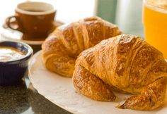 the Buttery croissants - I fear that there will be a lot of croissant eating in France