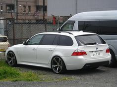 good looking BMW wagon