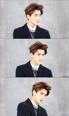 EXO 2015 Season's Greetings #Sehun ♡