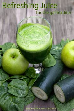 NEW RECIPE OF THE DAY: REFRESHING JUICE FOR THE GALLBLADDER - May 14th 2013