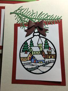 Inside of card Christmas card 2015
