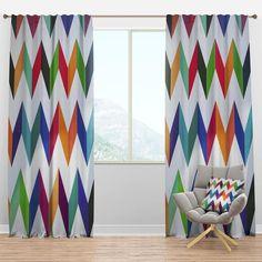 Rod Pocket Curtains, Grommet Curtains, Drapes Curtains, Blackout Curtains, Curtain Panels, Retro Design, Design Art, Floral Room, Beautiful Curtains