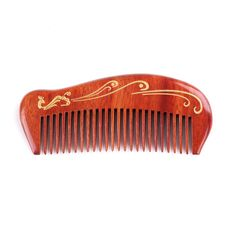 Breezelike No Static Red Rosewood Pocket Fine Tooth Comb with Go... ** More details can be found by clicking on the image. #hairdesign