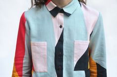 DUSEN DUSEN — Swatch Collared Shirt