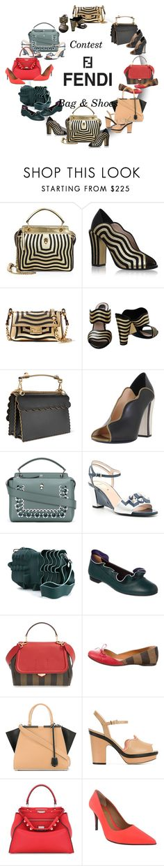 """""""- 51 - Fendi - Bag & Shoes"""" by vesper1977 ❤ liked on Polyvore featuring Fendi"""