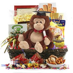 Care Packages for College Students: Celebrations in the Mist Graduation Basket Graduation Day, Baby Design, College Students, Gift Baskets, Mists, Celebrations, Congratulations, Packaging, Care Packages