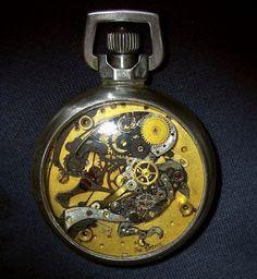 古い時計から作られたスチームパンクスカルプチャー(roomie) - エキサイトニュース