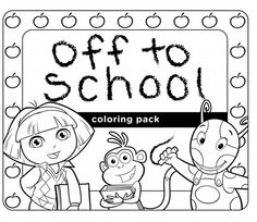 Summer Printables  Activities  Nick Jr  Coloring Pages
