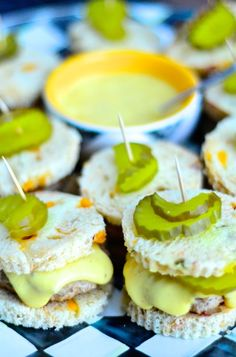 Turkey Cheese Sliders