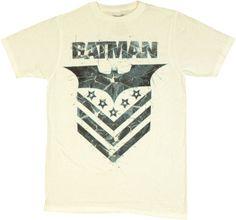 Batman Logo Chevron T Shirt