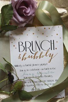 A DIY Gatsby Garden Bridal Shower Brunch