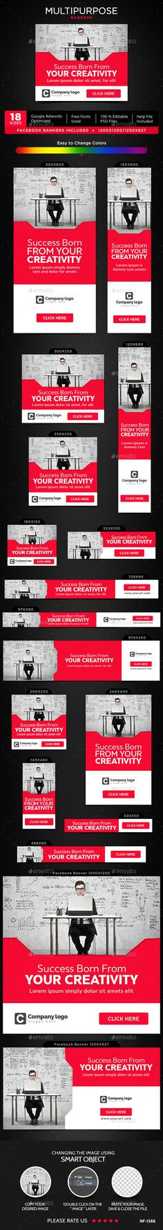 Multipurpose Banners Template PSD. Download here: http://graphicriver.net/item/multipurpose-banners/16888098?ref=ksioks