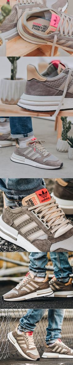 6d7f032409a46 The Adidas ZX 500 RM Simple Brown forms with a ZX 4000 4D the Kelvin Scale