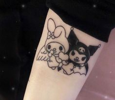 Discovered by ~( Find images and videos about tattoo, theme and my melody on We Heart It - the app to get lost in what you love. Mädchen Tattoo, Grunge Tattoo, Tattoo Trend, Sick Tattoo, Piercing Tattoo, Get A Tattoo, Piercings, Mini Tattoos, Body Art Tattoos