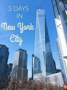 Traveling to New York City for a weekend or quick trip? See how I spent 3 days in NYC with tips on what to see, where to shop, where to stay, and (most importantly!) what to eat! Travel | Solo Travel | USA Travel | Travel Guide