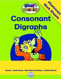 Guided Reading Poems (Printables)Each Smart Phonics poem introduces a new consonant digraph through the medium of shared poetry. These lively, interactive and delightful poems provide auditory support from rhyme, meaning support from context and visual support from illustrations.