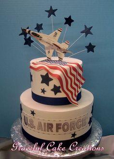 Groom cake military & bräutigam kuchen militär & gâteau de m. Army Cake, Military Cake, Military Party, Military Retirement, Bonnet Marin, Air Force Birthday, 90 Birthday, Retirement Cakes, Retirement Ideas