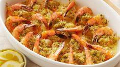 Ina's 5-Star Baked Shrimp Scampi