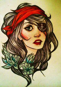 gypsy tattoo | Tumblr...like this idea