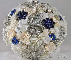Couture Flower Bouquet by Blue Petyl  #wedding #bouquet